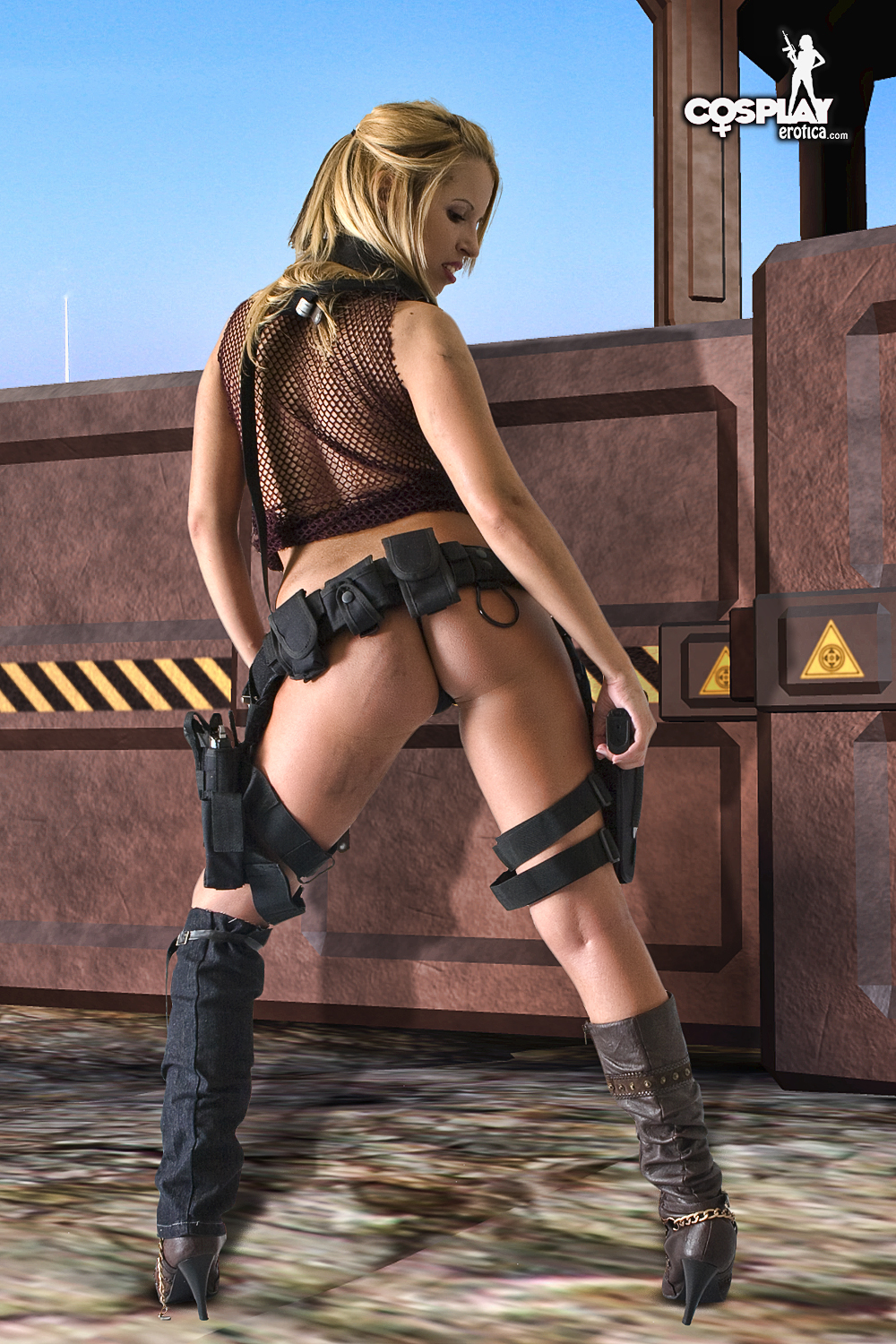 from Hayes alice naked resident evil