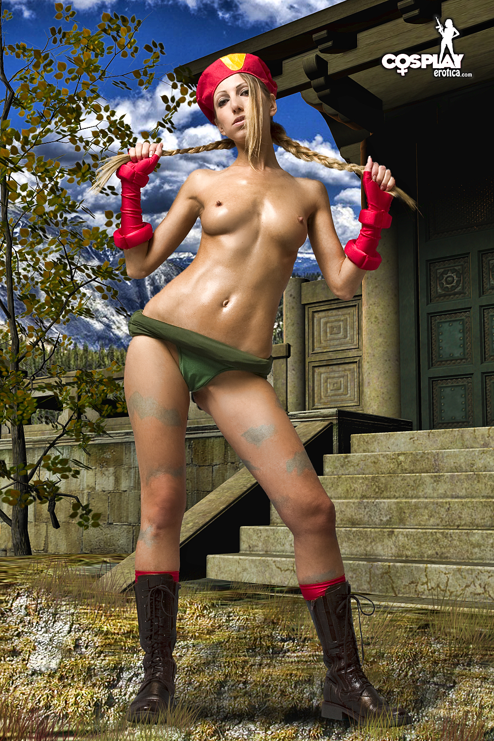 image Street fighter cammy cosplay twerk