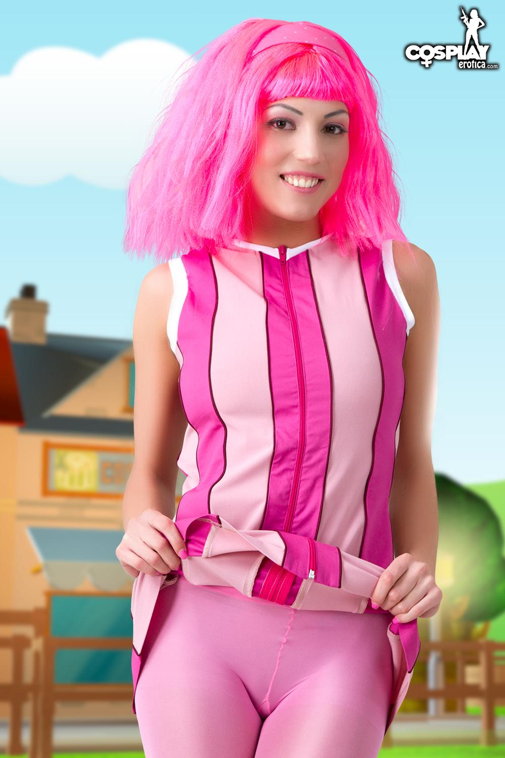 Lazy town nude pics