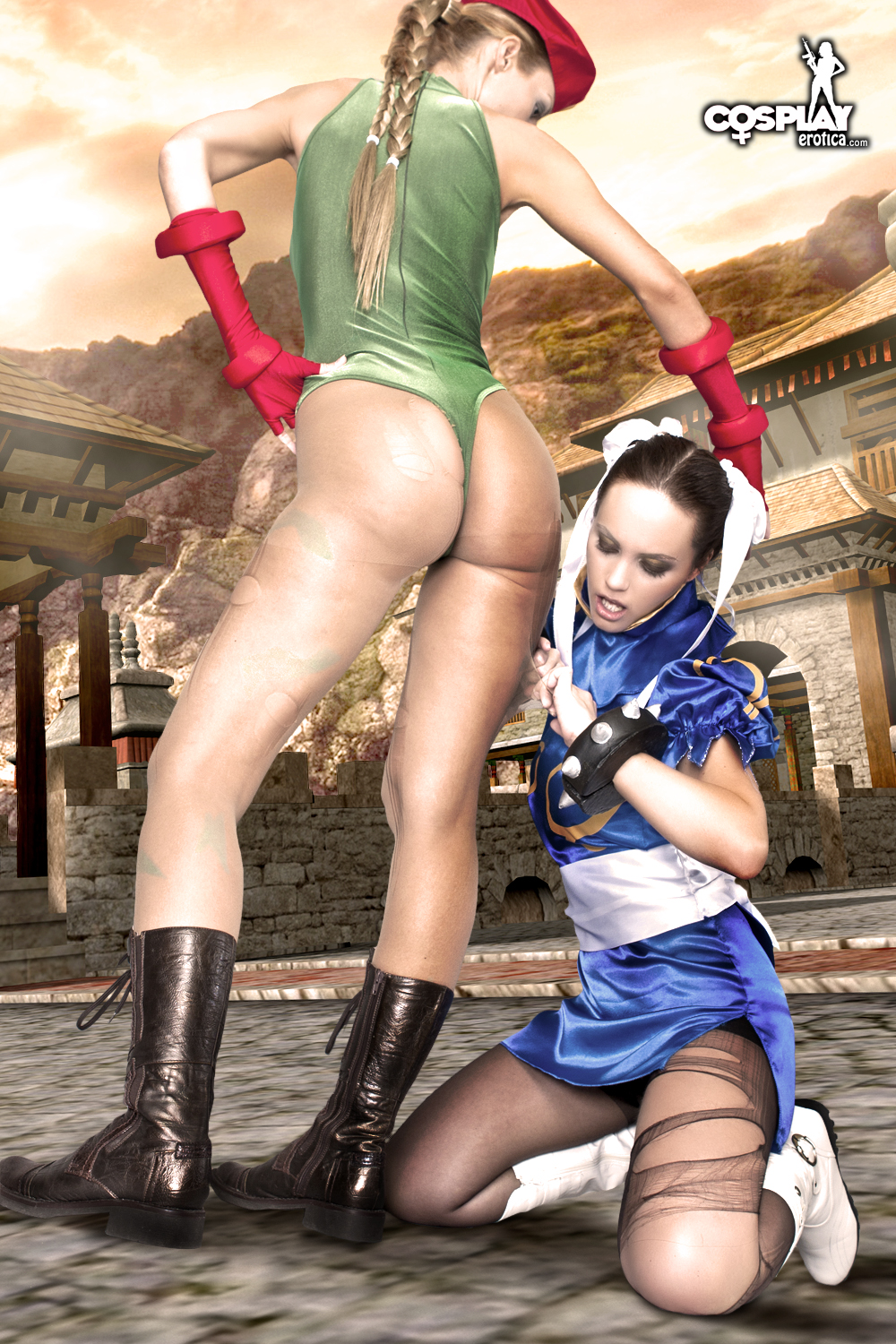 Theme, will street fighter cammy cosplay naked