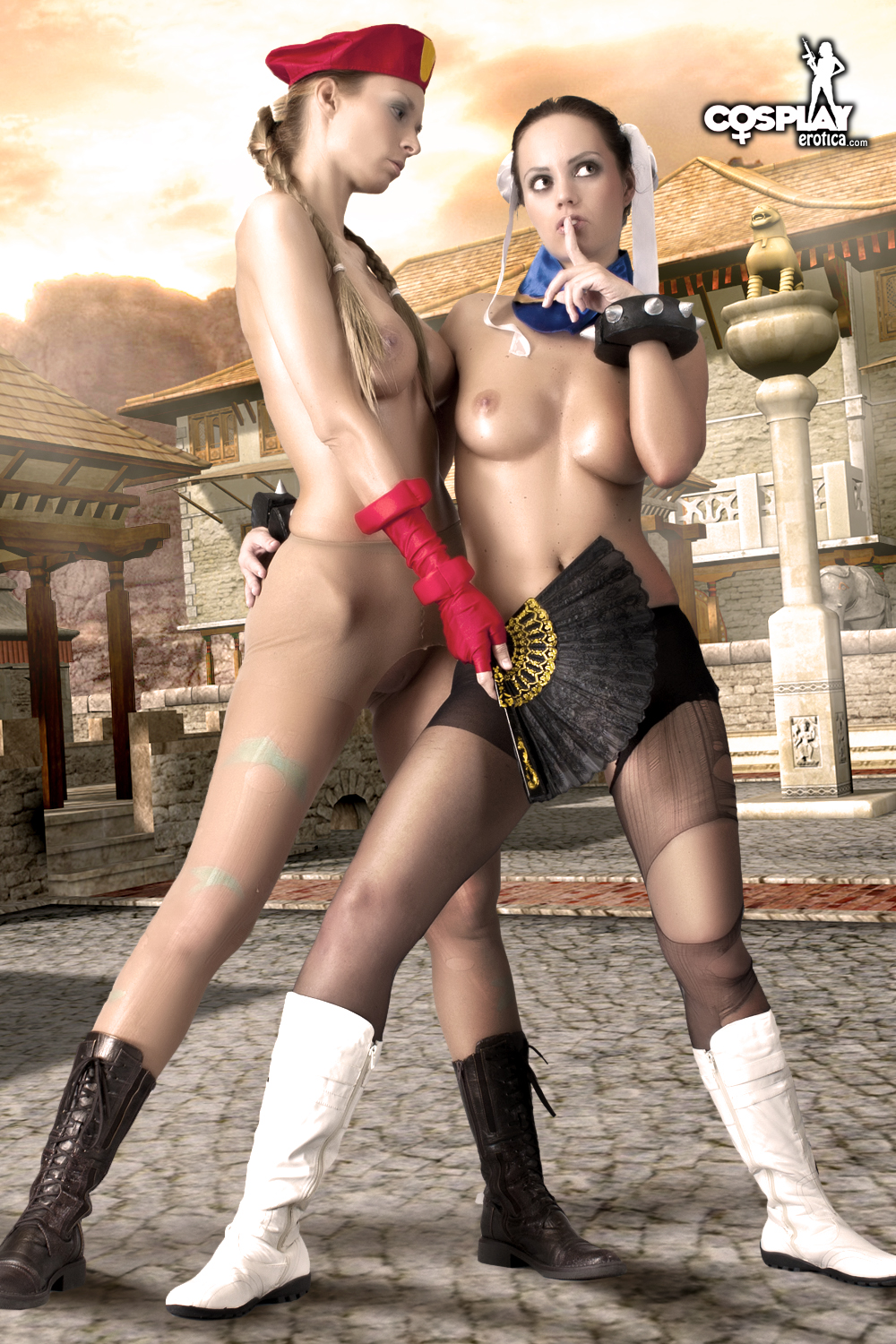 Cosplay erotic nudes streetfighter hentai pictures
