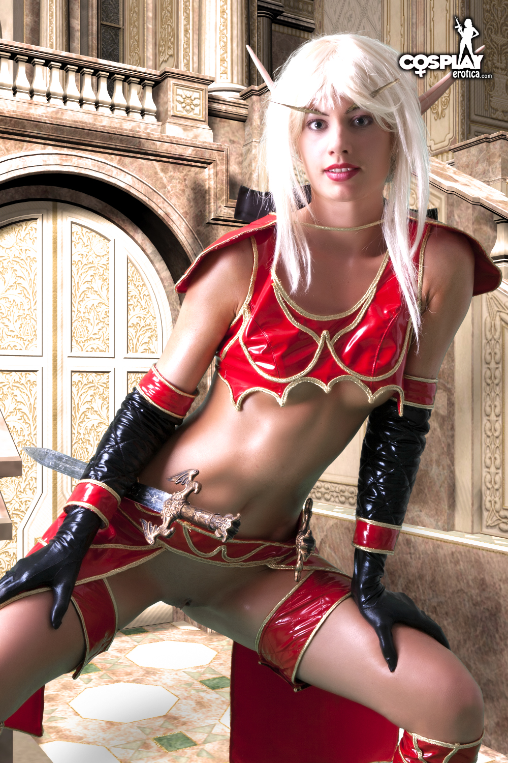 sexy female blood elf