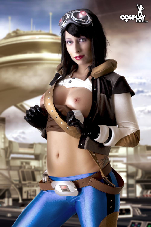 cosplay star war nude